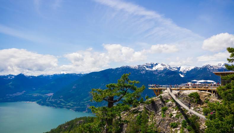 カナダ Sea to Skyゴンドラに乗って大自然の絶景に感動!