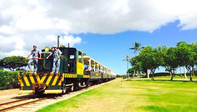 ハワイのオアフ島でサトウキビ列車に乗車!