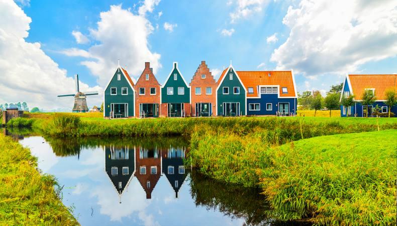 オランダならではの風景を探しに港町へ