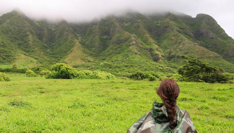 ジュラシックパークのロケ地に探訪へ@ハワイ