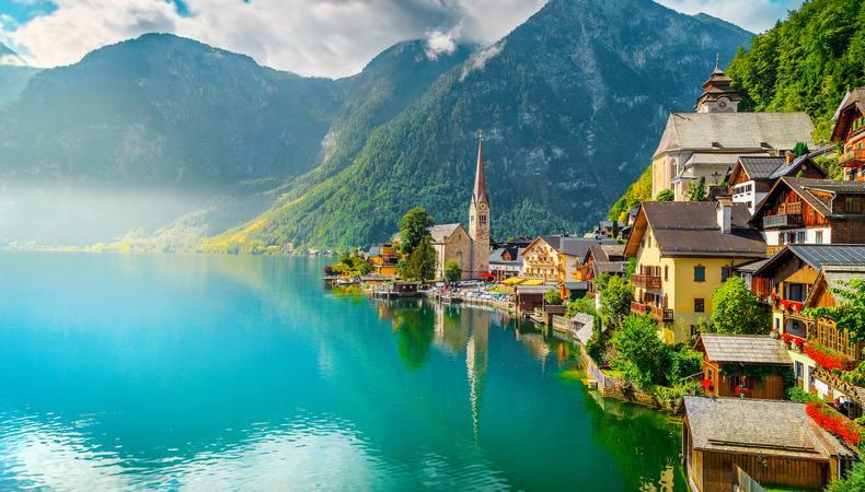 オーストリアのザルツカンマーグートで湖巡り