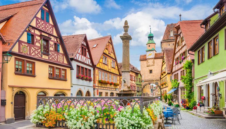 ドイツ 憧れのロマンチック街道を巡る旅