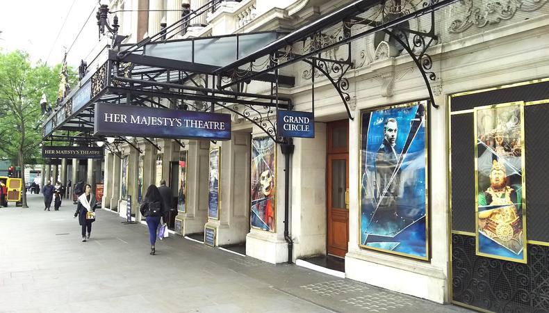 本場ロンドンでミュージカル「オペラ座の怪人」を観る