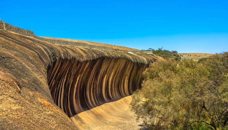 巨大な波の奇岩?ウェーブロックに行きたい@オーストラリア