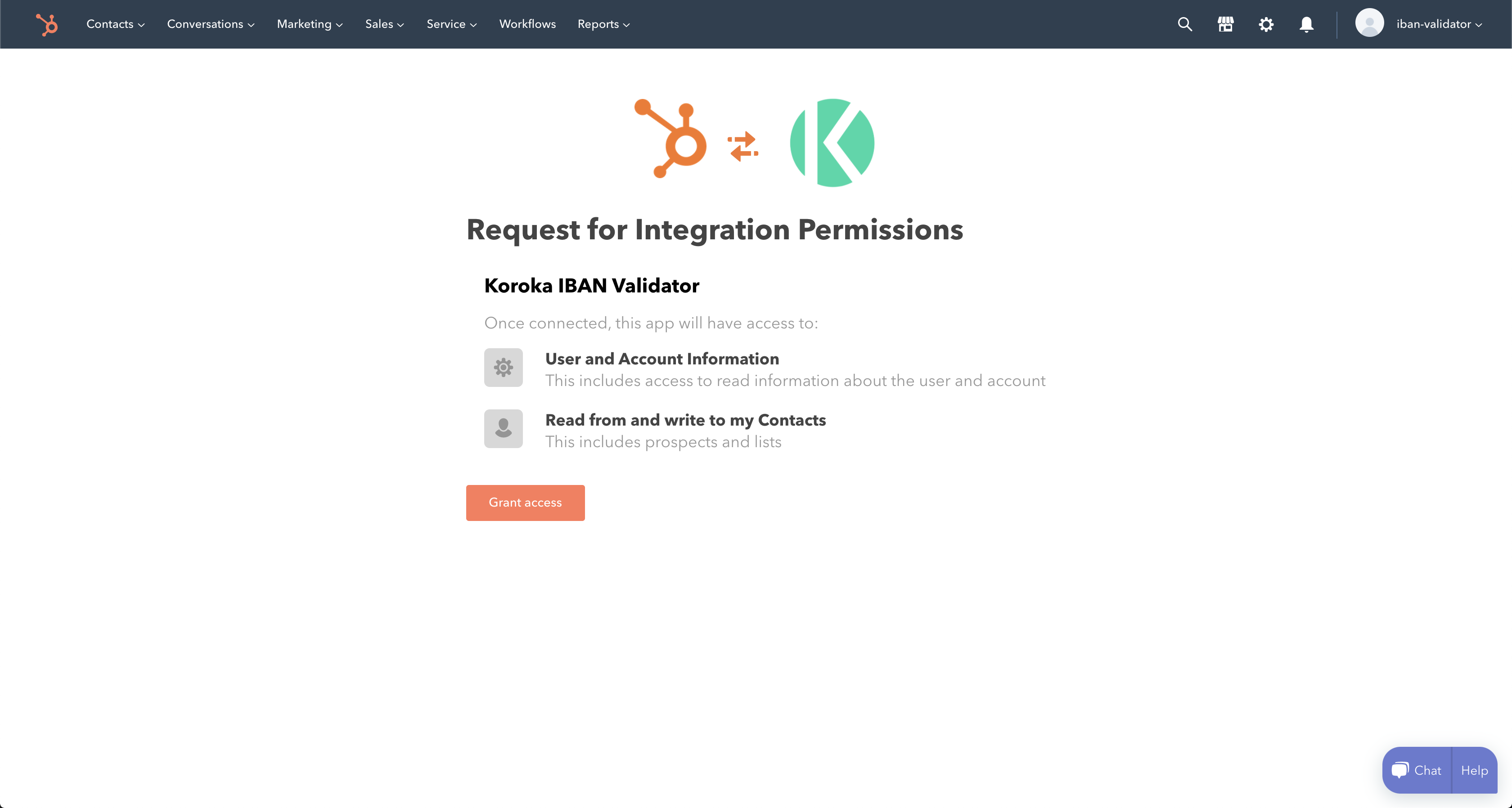 IBAN Validator for HubSpot: Installation
