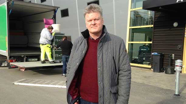 Glenn Rytterfjell är kommunens projektledare för Melodifestivalen