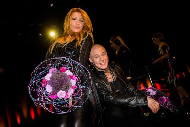 Linus Svenning och Helena Paparizou till final i Melodifestivalen 2014