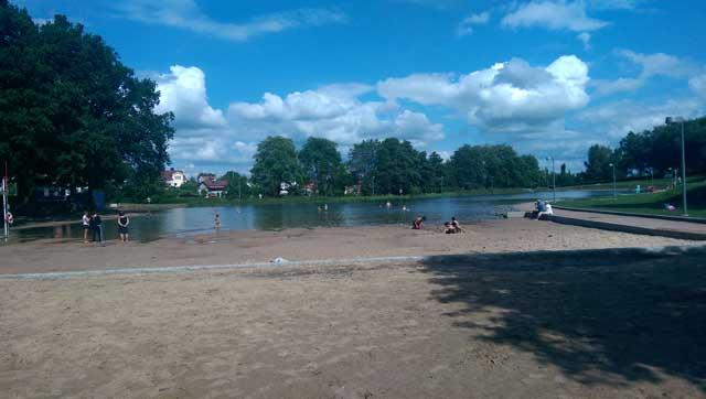 Boulognersjön i Skövde