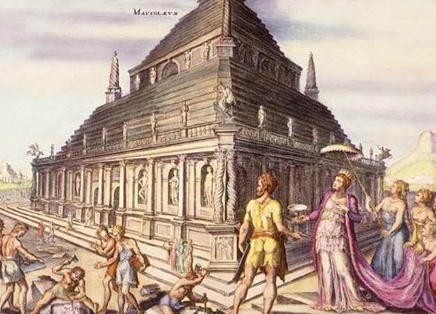 https://commons.wikimedia.org/wiki/File:Mausoleum_of_Halicarnassus.jpg#/media/File:Mausoleum_of_Halicarnassus.jpg