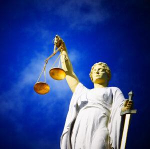 Oikeudenmukaisuuden jumalatar