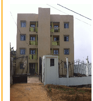 Apartment to rent - Douala, Ndogpassi III, ARIE - 1 living room(s), 3 bedroom(s), 2 bathroom(s) - 50 000 FCFA / month