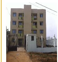 Apartment to rent - Douala, Ndogpassi III, ARIE - 1 living room(s), 3 bedroom(s), 2 bathroom(s) - 60 000 FCFA / month