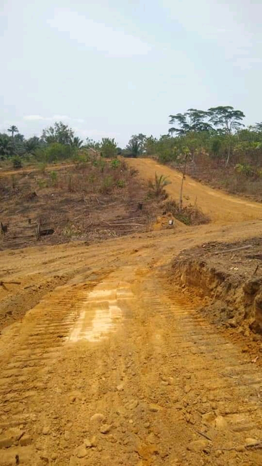 Land for sale at Douala, PK 27, Bakassi - 15000 m2 - 2 500 000 FCFA