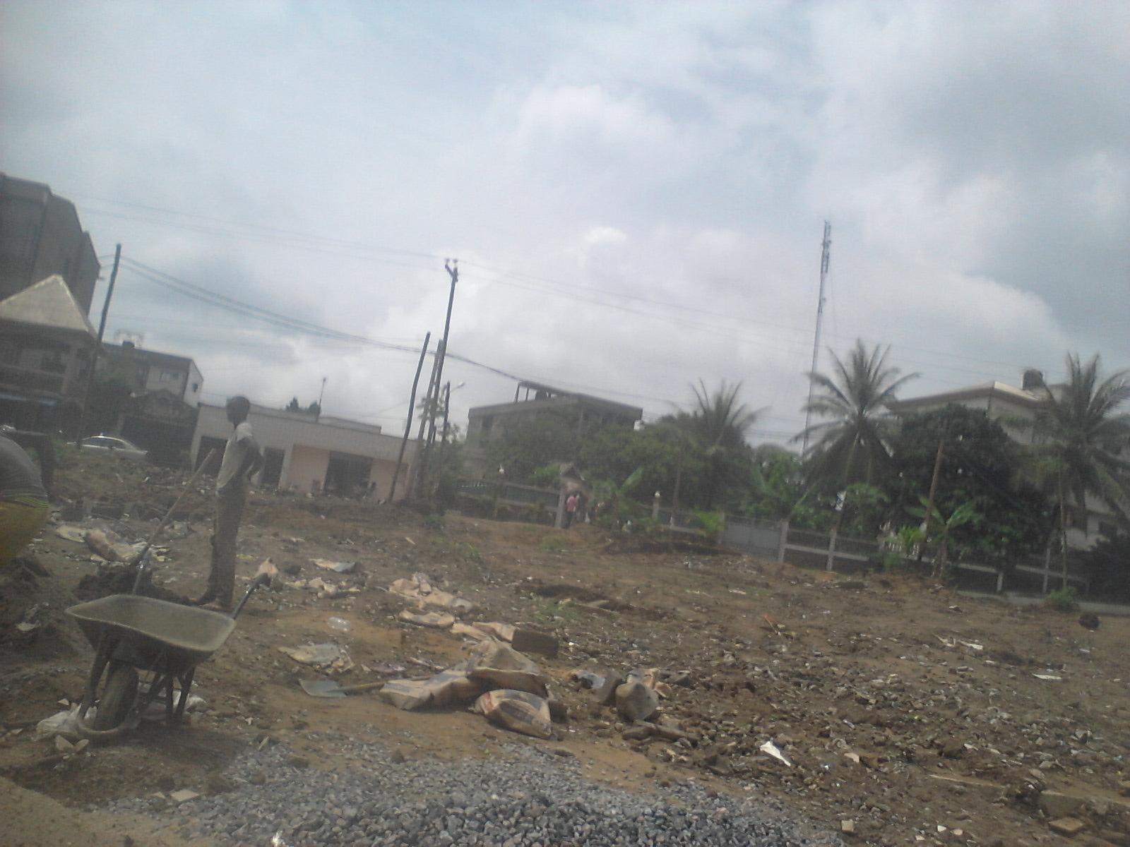 Terrain à vendre - Douala, Logpom, bassong - 200 m2 - 11 000 000 FCFA