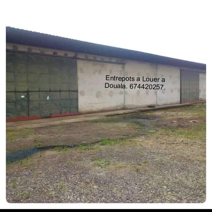 Store to rent at Douala, Bonaberi, zone industrielle - 2000 m2 - 4 000 000 FCFA