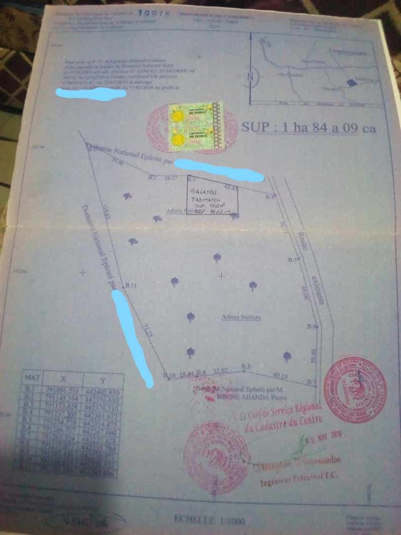 Land for sale at Yaoundé, Ngousso, petrolex - 18409 m2 - 147 000 000 FCFA