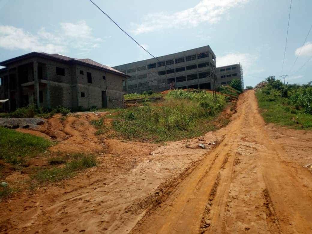 Land for sale at Douala, PK 17, DERRIERE L UNIVERSITE DE PK 17 - 300 m2 - 4 500 000 FCFA