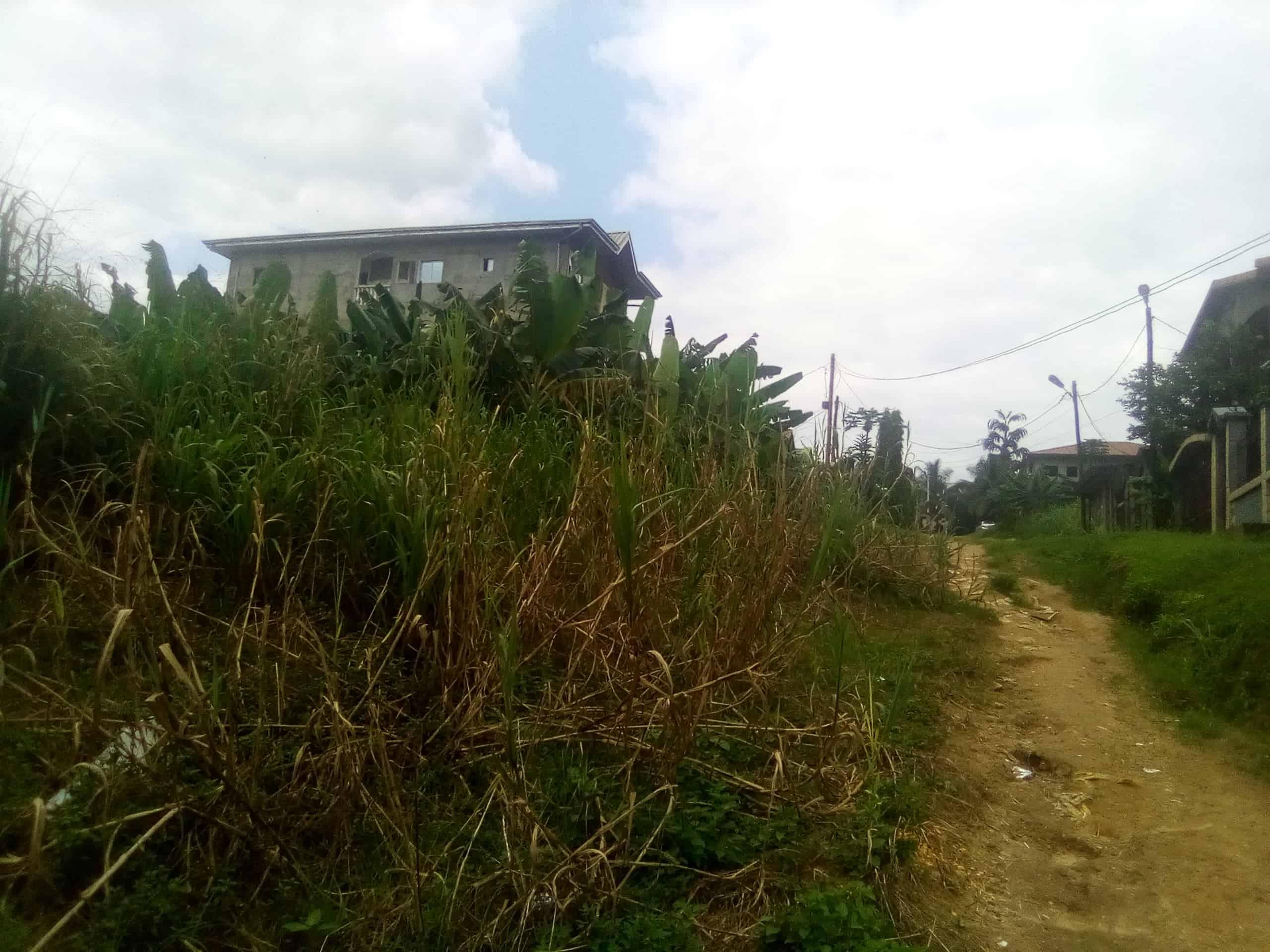 Land for sale at Douala, Logpom, Avant l'hôpital des soeurs - 200 m2 - 4 000 000 FCFA