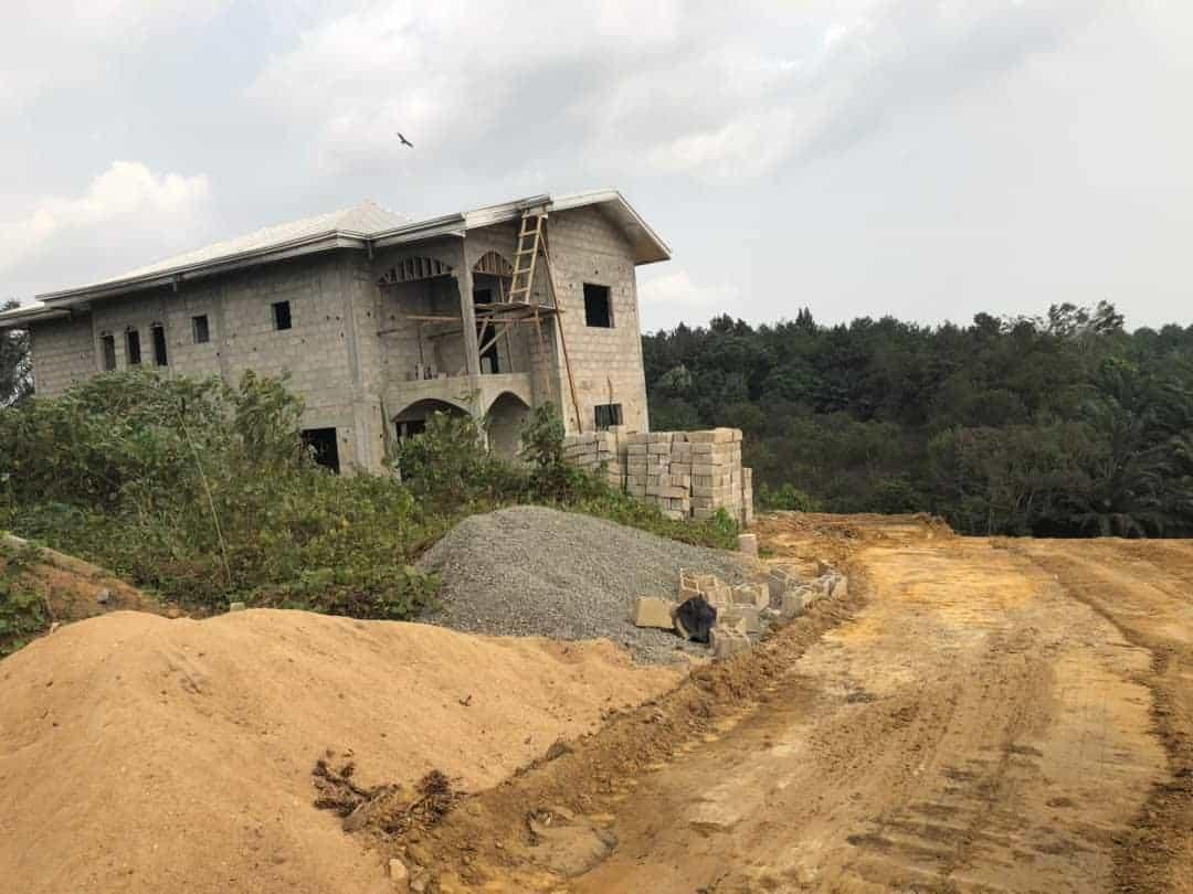 Land for sale at Douala, PK 20, Non loin de l'église Catholique de PK21 - 350000 m2 - 6 500 000 FCFA