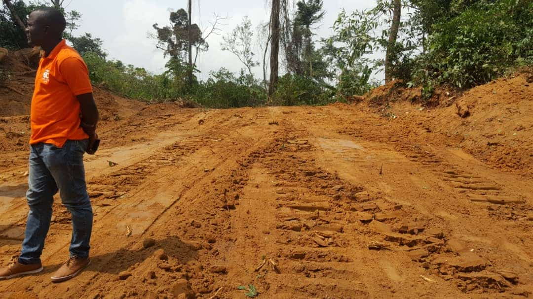 Land for sale at Douala, Bassa, kendeck entre chinoise - 500 m2 - 1 750 000 FCFA