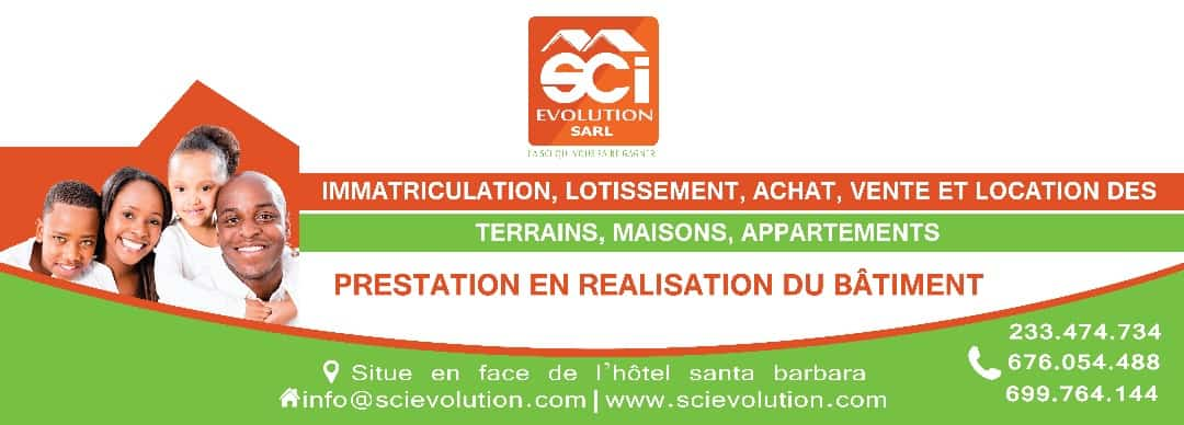 Land for sale at Douala, Bassa, Lendi - 1000 m2 - 25 000 000 FCFA