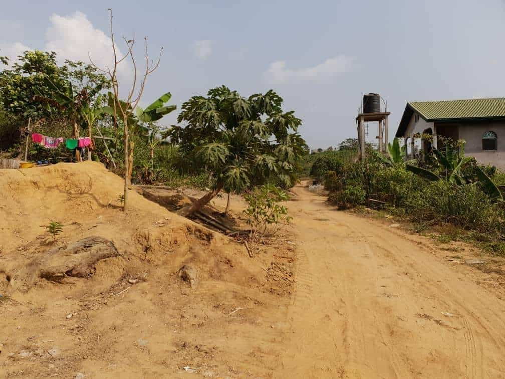 Land for sale at Douala, Lendi, Après la chefferie en allant vers NGOMBE - 55000 m2 - 5 000 000 FCFA