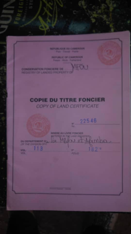 Land for sale at Yaoundé, Nsimalen, Terrains a vendre a nsimalen  - 2000 m2 - 12 000 000 FCFA