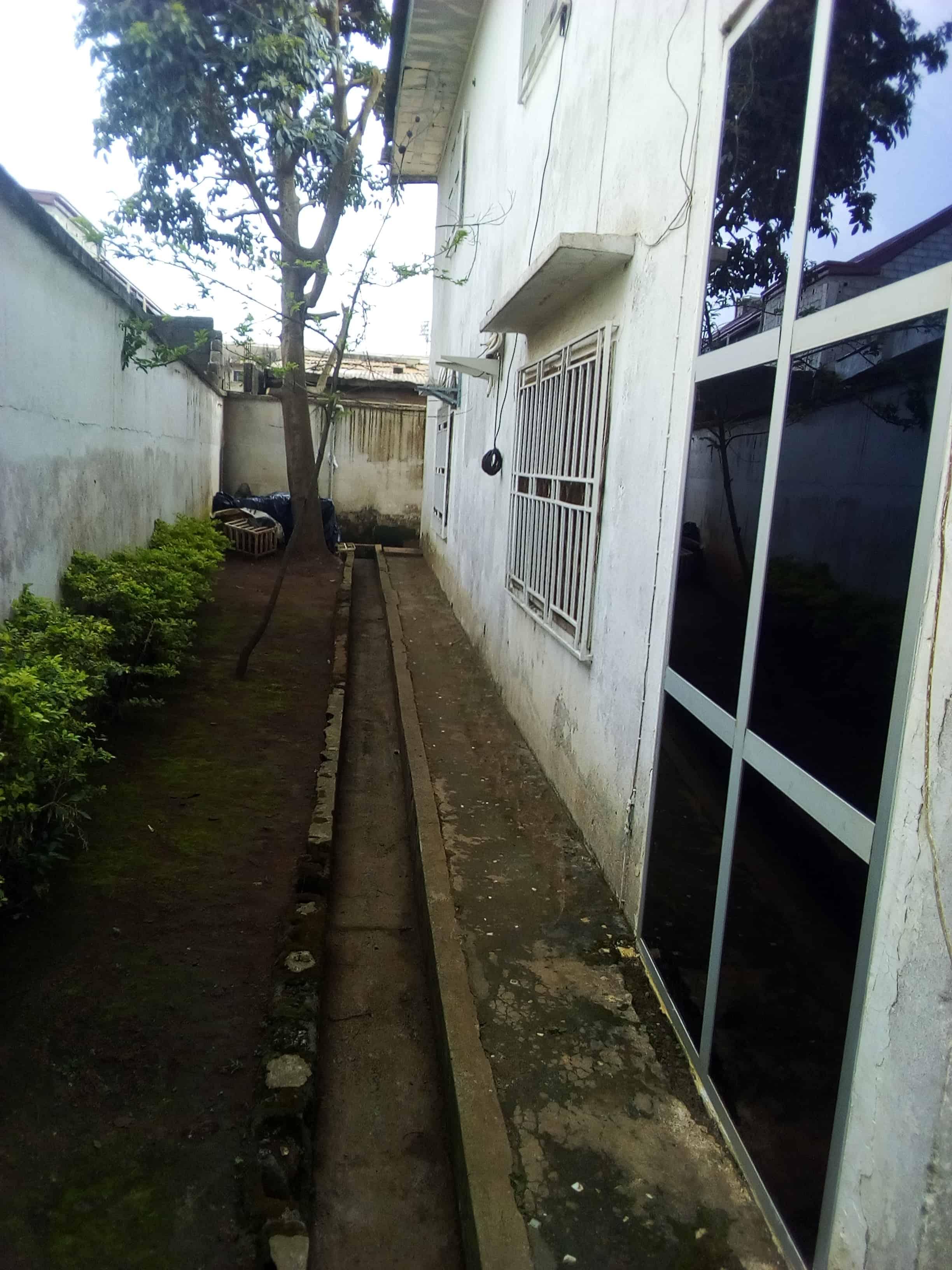 House (Duplex) to rent - Yaoundé, Mfandena, OMNISPORT - 1 living room(s), 5 bedroom(s), 4 bathroom(s) - 500 000 FCFA / month
