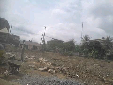 Land for sale at Douala, Logpom, Collège bassong - 200 m2 - 10 000 000 FCFA