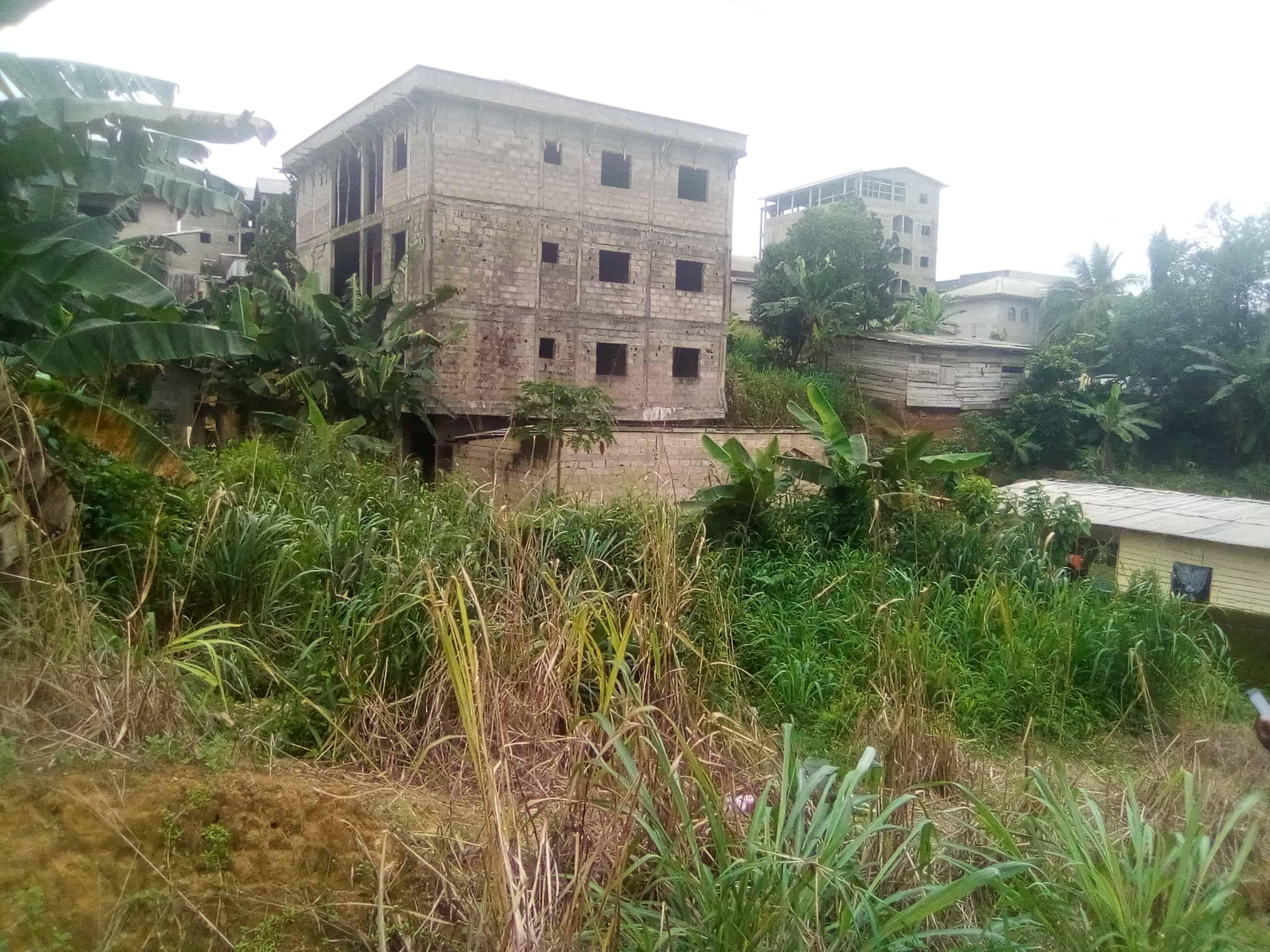 Terrain à vendre - Douala, Logpom, Avant l'hôpital des soeurs - 180 m2 - 7 000 000 FCFA
