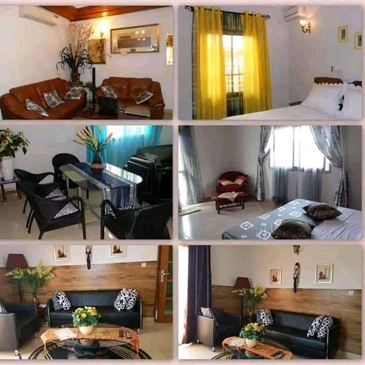 Appartement à louer - Yaoundé, Biyem-Assi, RÉSIDENCE THOUNDALIA MEUBLÉS DE LUXE - 4 salon(s), 8 chambre(s), 8 salle(s) de bains - 51 500 FCFA / mois
