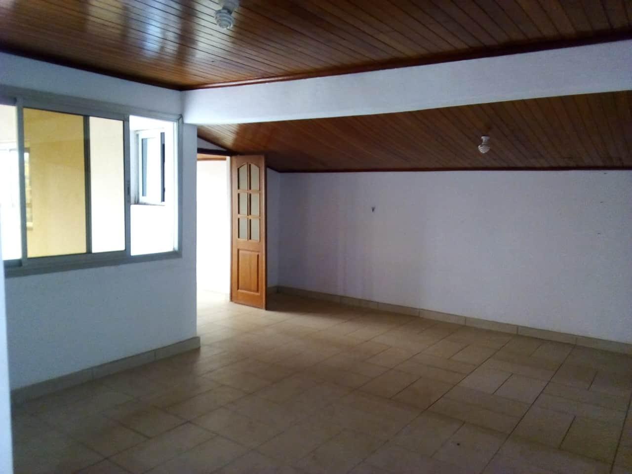 Appartement à louer - Yaoundé, Mfandena, avenue foe - 1 salon(s), 3 chambre(s), 3 salle(s) de bains - 250 000 FCFA / mois