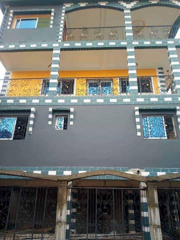 Apartment to rent - Douala, Makepe, DERRIERE LE LYCEE DE MAKEPE - 1 living room(s), 1 bedroom(s), 1 bathroom(s) - 65 000 FCFA / month