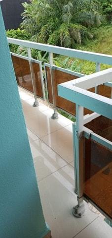 Apartment to rent - Douala, Cite Ubo Palmiers, Citée de palmier - 1 living room(s), 1 bedroom(s), 1 bathroom(s) - 70 000 FCFA / month