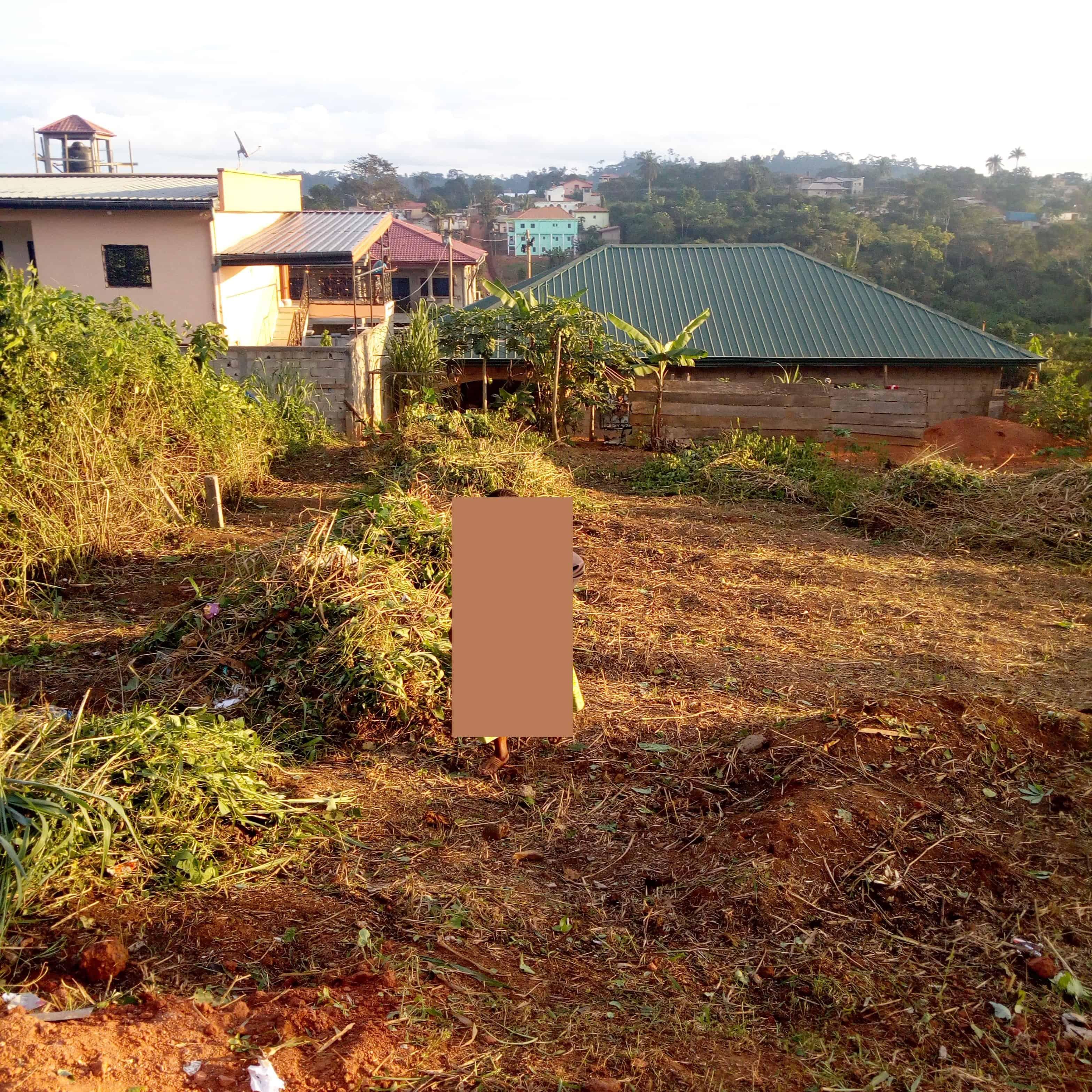 Land for sale at Yaoundé, Biteng, Ebol-Medjom - 500 m2 - 6 000 000 FCFA