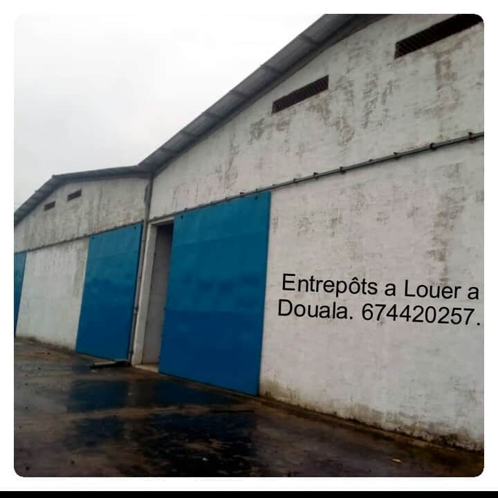 Warehouse to rent at Douala, Bonaberi, Zone Industriel - 1000 m2 - 250 000 FCFA