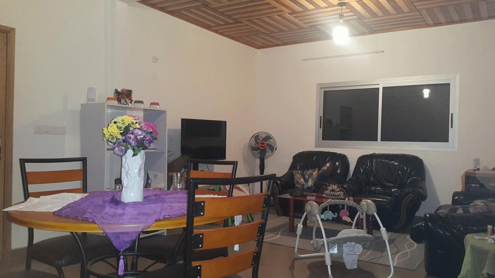 Appartement à louer - Yaoundé, Nkolbisson, Carrefour Nkolbisson - 1 salon(s), 2 chambre(s), 1 salle(s) de bains - 150 000 FCFA / mois
