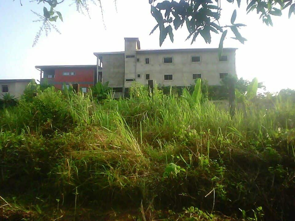 Land for sale at Douala, Logpom, bassong maison jumelles - 205 m2 - 4 000 000 FCFA