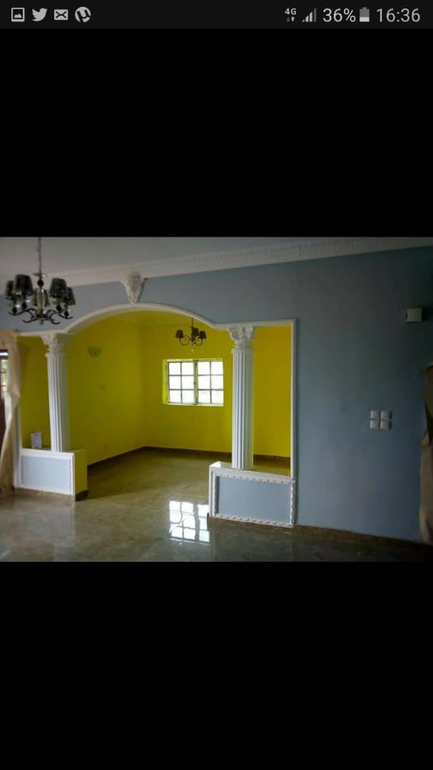 Apartment to rent - Douala, Kotto, Ver mbangue - 1 living room(s), 2 bedroom(s), 2 bathroom(s) - 130 000 FCFA / month