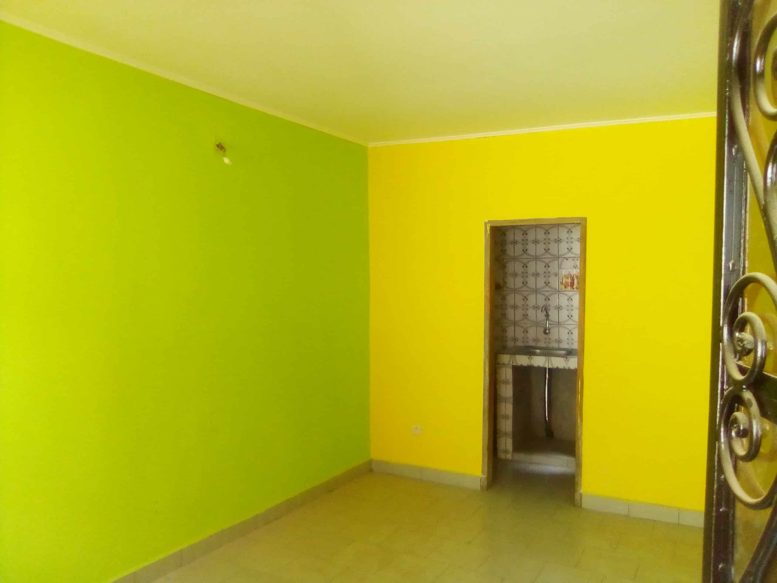 Apartment to rent - Douala, Kotto, carrefour des imeubles - 1 living room(s), 2 bedroom(s), 1 bathroom(s) - 60 000 FCFA / month