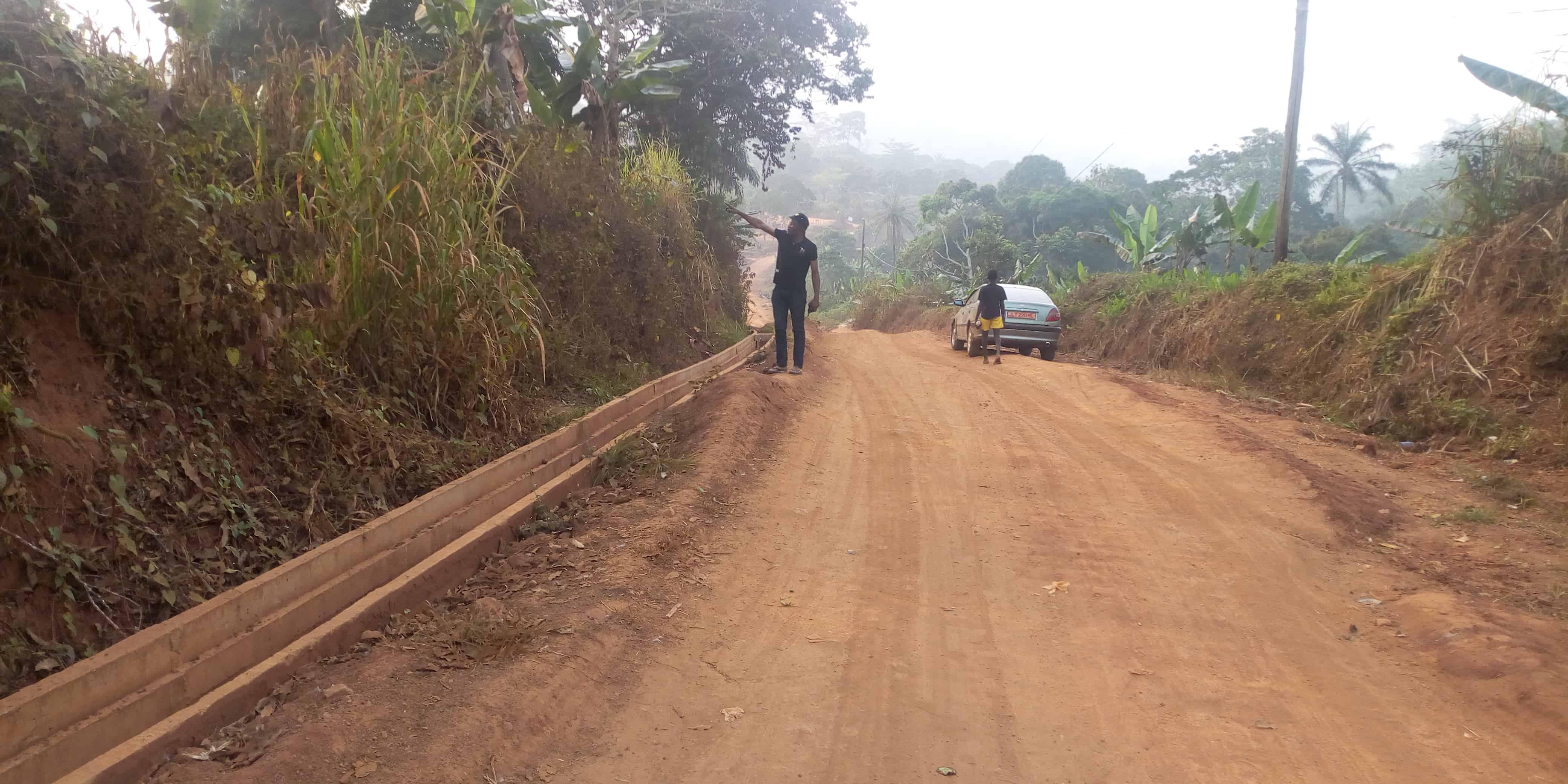 Land for sale at Yaoundé, Fébé-Village, 1 hectares à vendre à Yaoundé Febe village - 10000 m2 - 100 000 001 FCFA