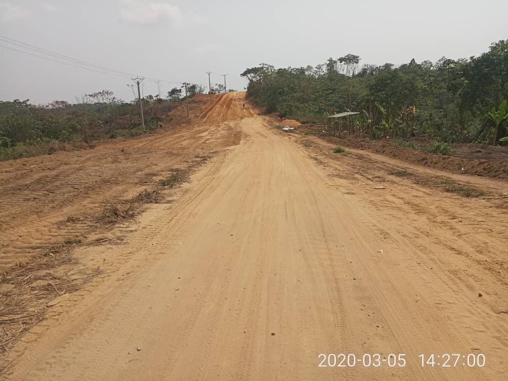 Land for sale at Yaoundé, Minkoameyos, Eloudem - 1000 m2 - 6 000 000 FCFA