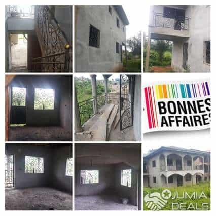 House (Villa) for sale - Yaoundé, Nkomo, Duplex inachevé à vendre Yaoundé avant mfou - 1 living room(s), 4 bedroom(s), 3 bathroom(s) - 38 000 000 FCFA / month