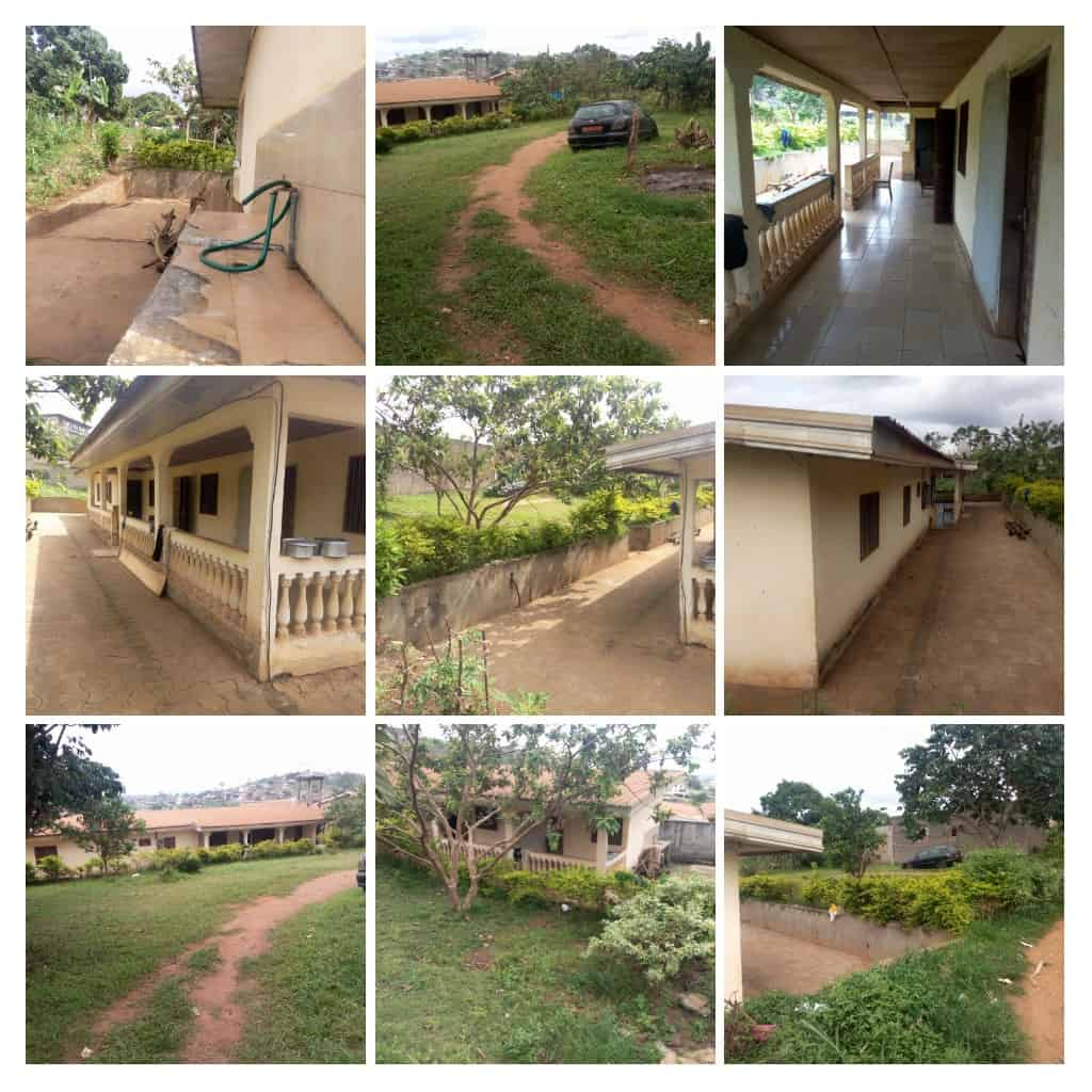 House (Villa) for sale - Yaoundé, Messame-Ndongo, Maison+ terrain à vendre à Yaoundé odza messamendongo - 1 living room(s), 4 bedroom(s), 3 bathroom(s) - 36 000 000 FCFA / month