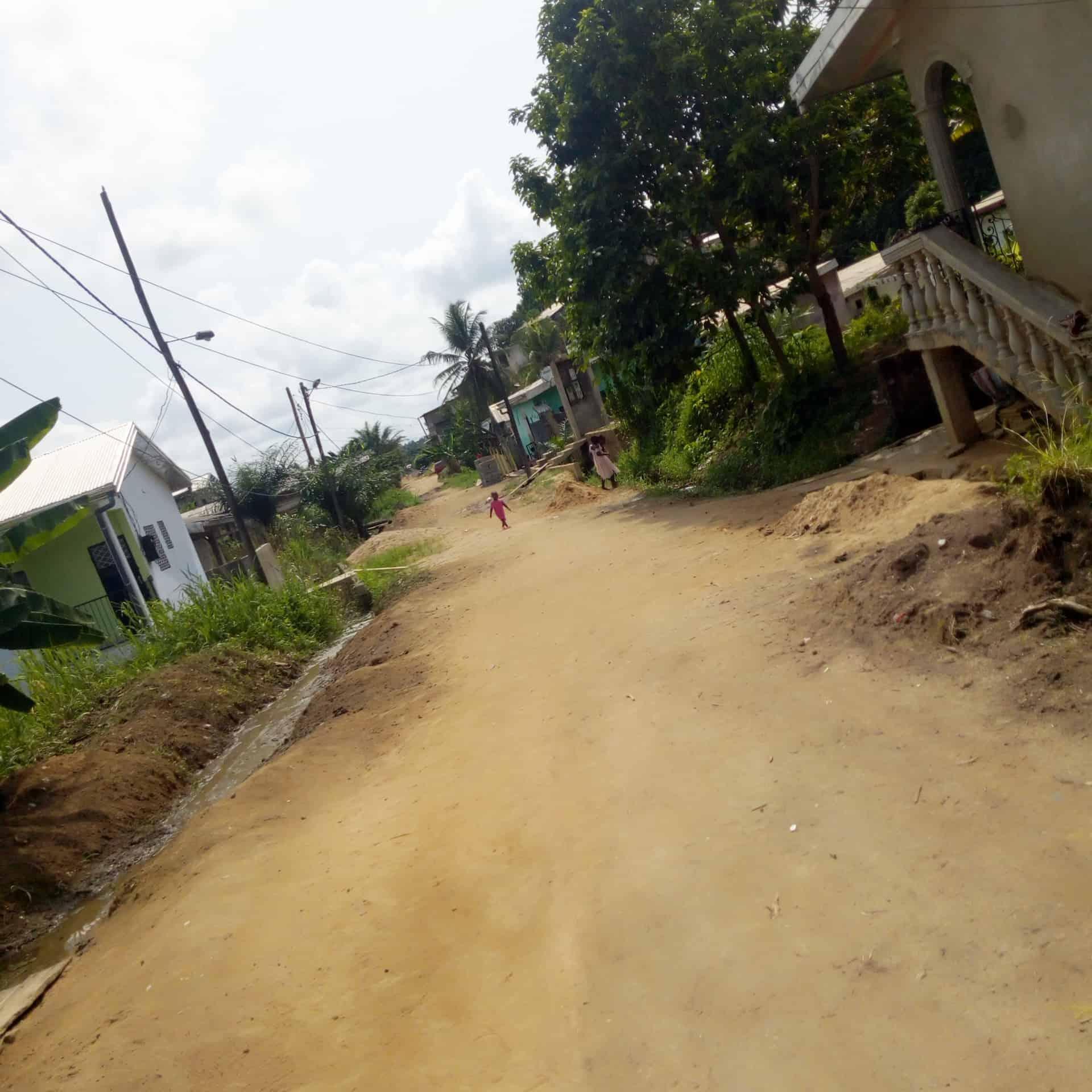 Land for sale at Douala, Bangue, Toiture rouge - 480 m2 - 3 000 000 FCFA