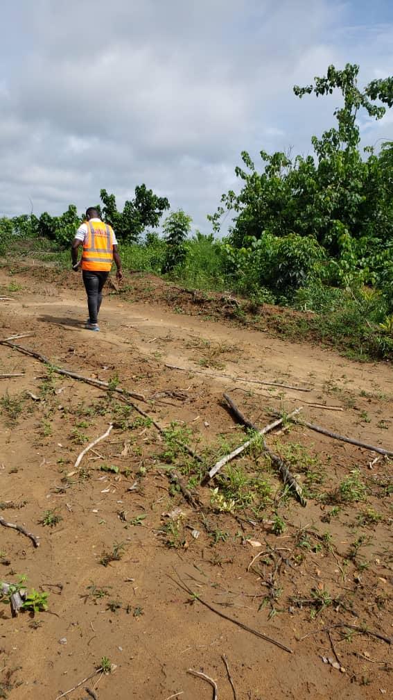 Land for sale at Douala, PK 27, Pk27 - 5000 m2 - 50 000 000 FCFA