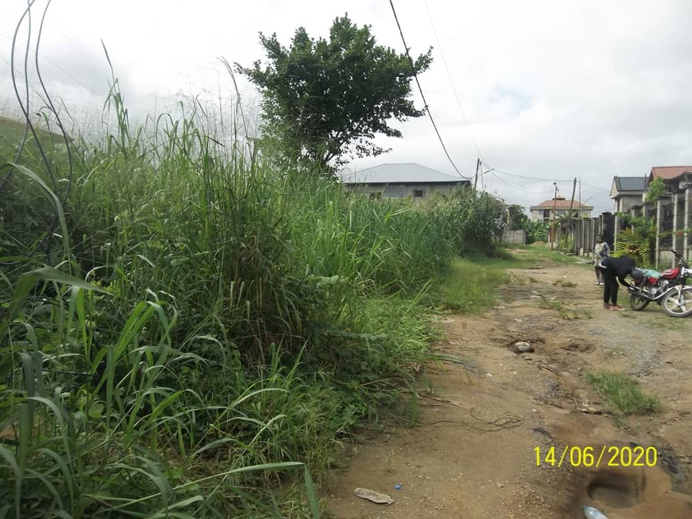 Land for sale at Douala, Yassa, Mbanga bakoko - 455 m2 - 16 000 000 FCFA