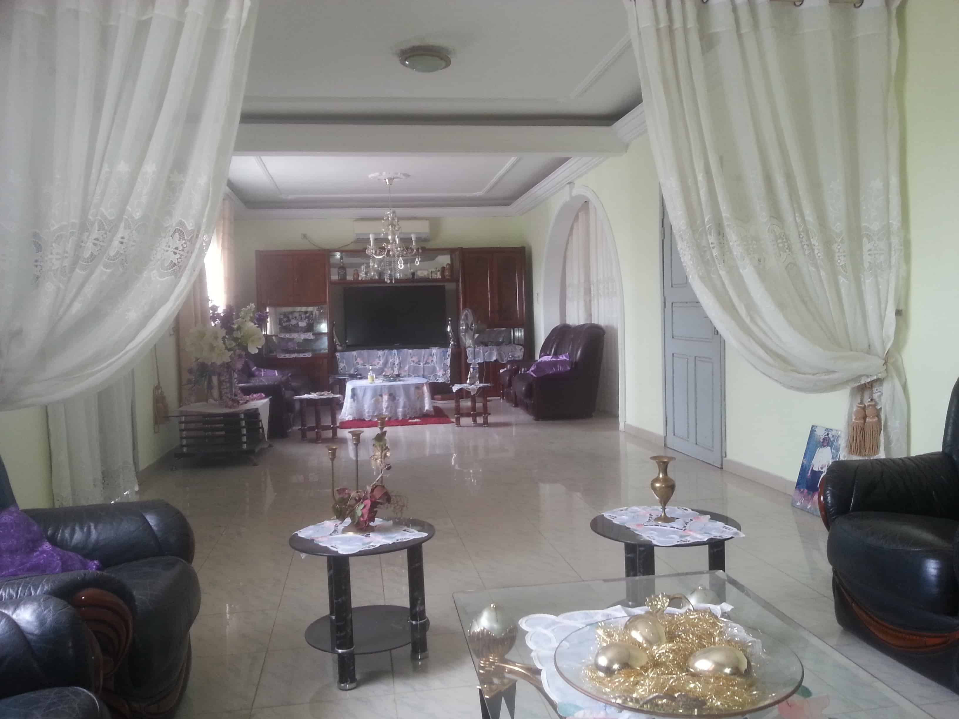 House (Triplex) for sale - Douala, Ndogbong, ndogbong - 2 living room(s), 6 bedroom(s), 5 bathroom(s) - 145 000 000 FCFA / month