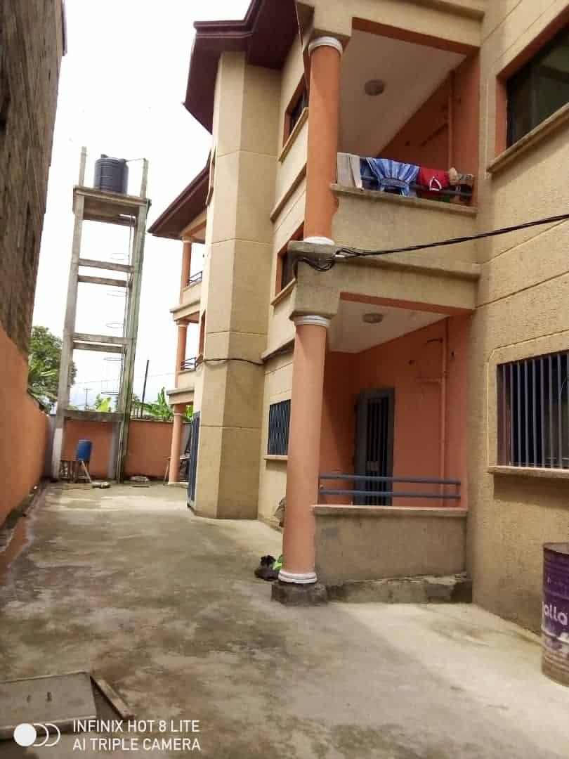 Apartment to rent - Douala, PK 14, C'est a pk13 - 1 living room(s), 2 bedroom(s), 2 bathroom(s) - 120 000 FCFA / month