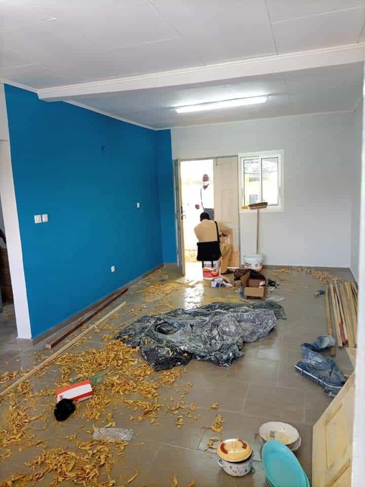 Apartment to rent - Douala, Makepe, NON LOIN DE SAKER RHÔNE POULENC - 1 living room(s), 2 bedroom(s), 1 bathroom(s) - 100 000 FCFA / month